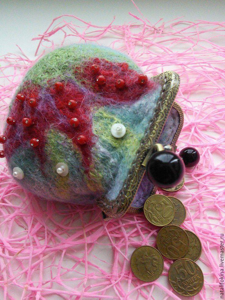 """монетница """"Цветочек Аленький"""" – купить в интернет-магазине на Ярмарке Мастеров с доставкой - BNJYPRU"""