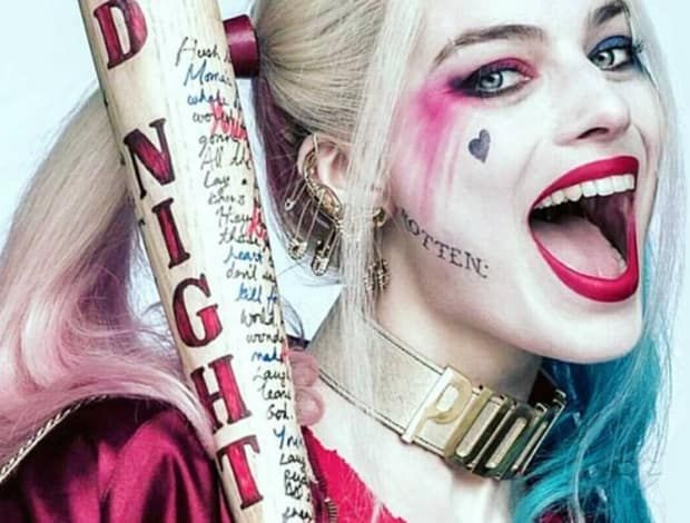 Harley Quinn --Be your own Whyld Girl with a wicked tee today! whyldgirl.com/...