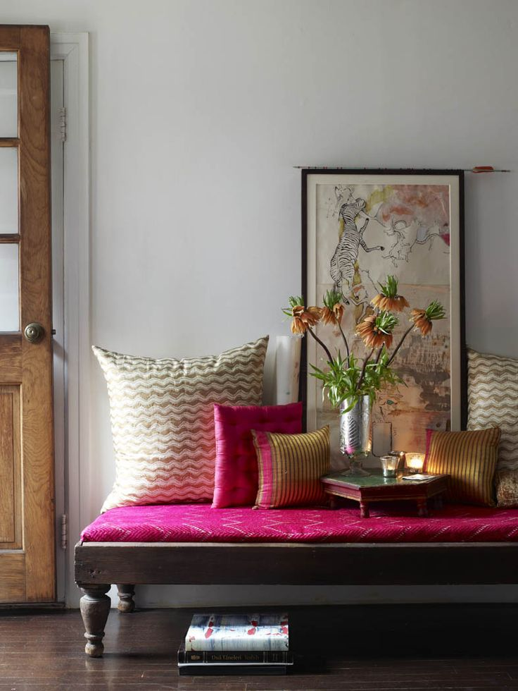 pink in interiors     love the bright colour pink in interiors especially when the autumn just started here in amsterdam. it certainly brig...