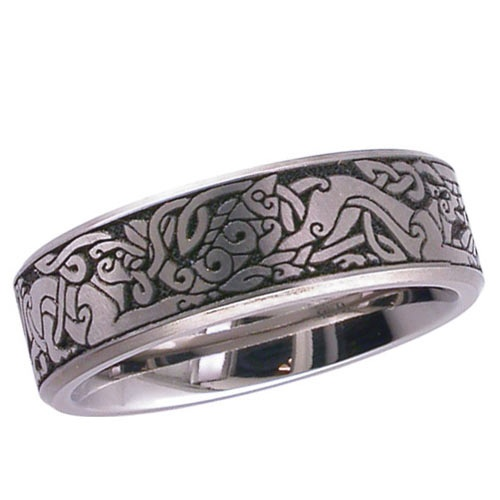 95 Best Norse/Celtic Wedding Ring Images On Pinterest