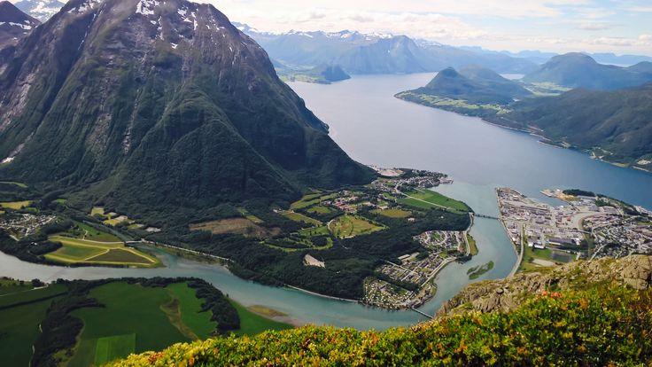 Utsikt fra Romsdalseggen 🇳🇴