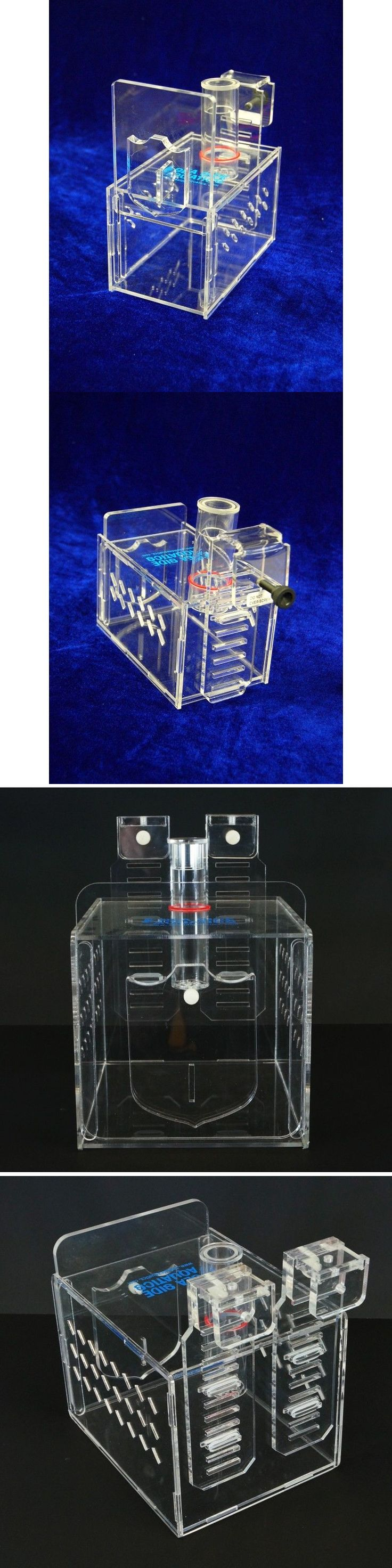 Other Fish and Aquarium Supplies 8444: Sea Side Aquatics Aquarium Fish Trap Hang On Back Sizes: Small, Medium, Large. BUY IT NOW ONLY: $69.95