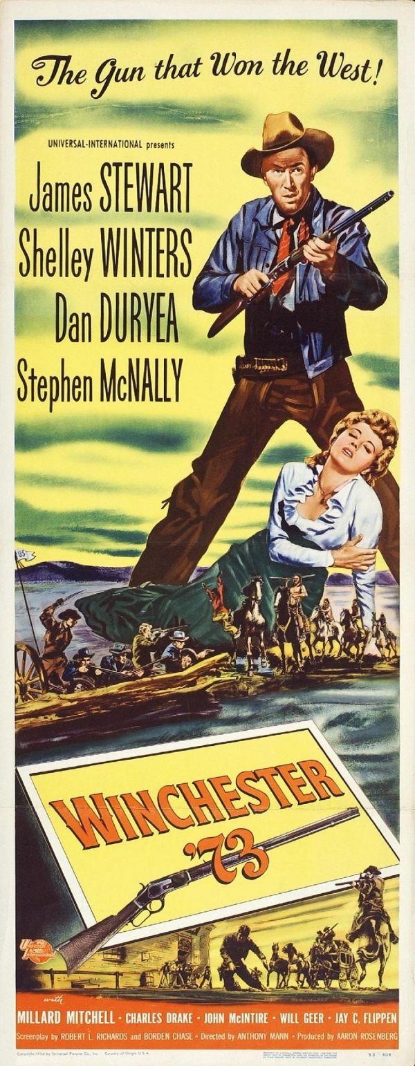 Winchester 73 - James Stewart - Shelley Winters - Dan Duryea - Stephen McNally…