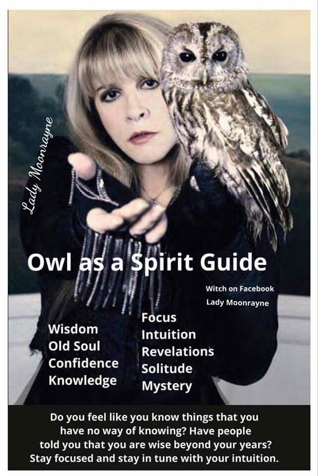 Owl Spirit guide - Pinned by The Mystic's Emporium on Etsy