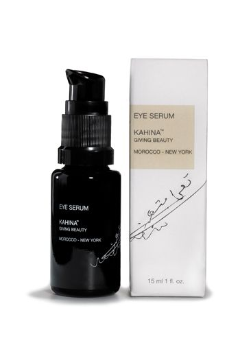 KAHINA EYE SERUM Rich in peptides and antioxidants, Kahina Eye Serum penetrates easily to: • Increase lymphatic drainage to reduce puff...