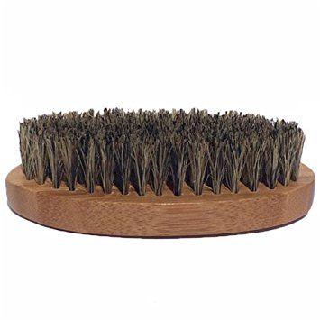 Badass Beard Care Beard Brush for Men – 100% Pure Boars Hair Bristles, Lightweight Bamboo… Review