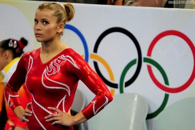 2. Alicia Sacramone, US Women's Gymnastics