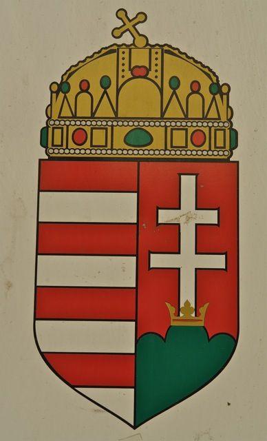 Hungarian coat of arms. Photo:T.Graffe