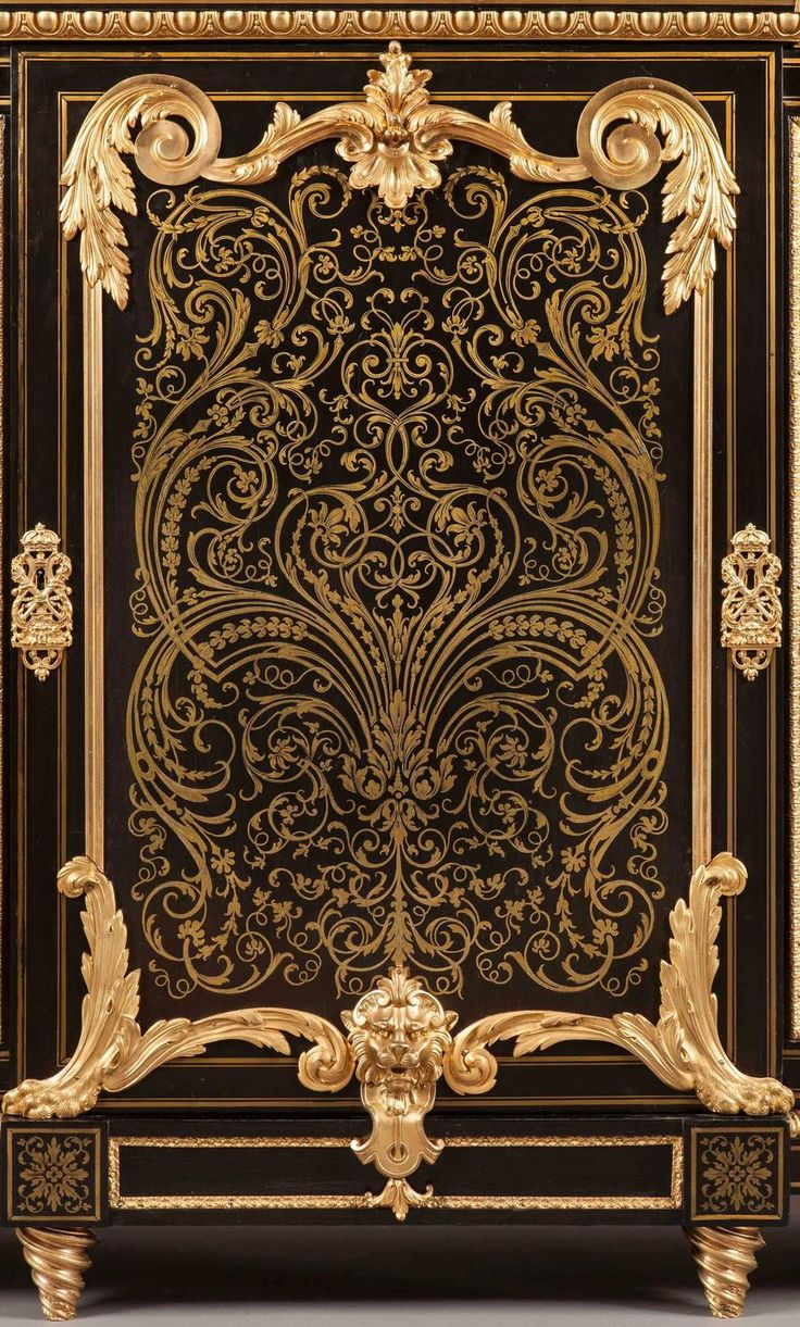 An Antique French Cabinet in the Manner of André–Charles Boulle | From a unique collection of antique and modern cabinets at https://www.1stdibs.com/furniture/storage-case-pieces/cabinets/