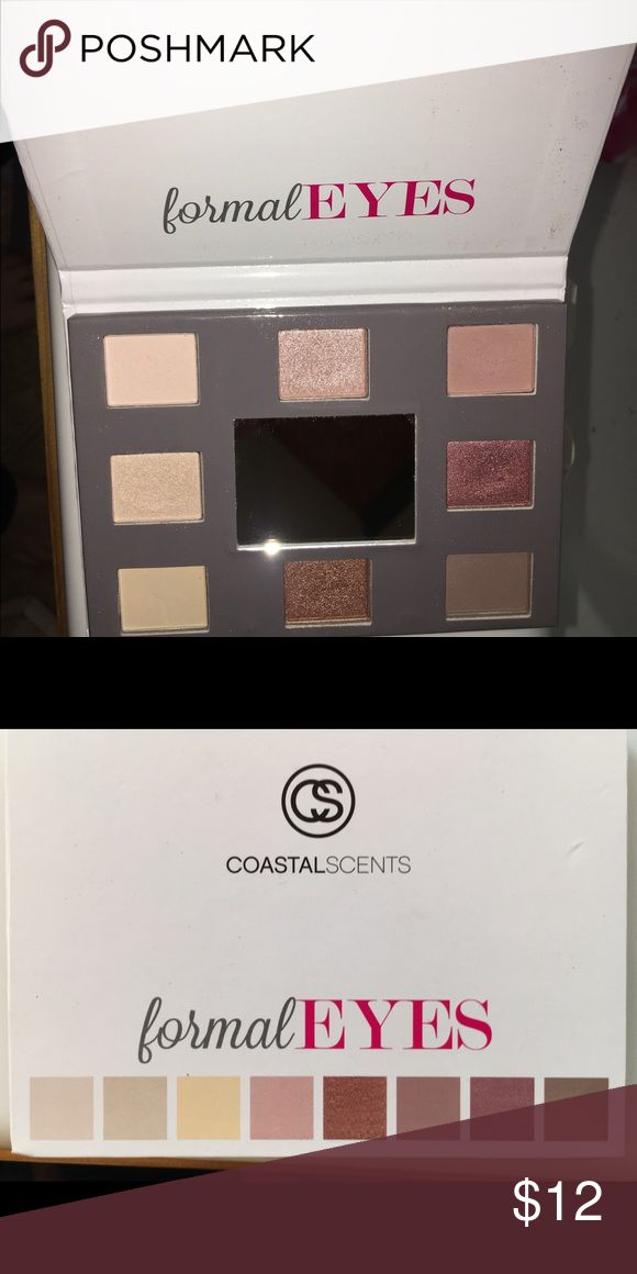 Coastal Scents Formal Eyes Eyeshadow Palette Great colors sort of similar to Urban Decay Naked or Tarte Tartiest. Awesome custom palette from a well known & trusted co in the beauty world! Coastal Scents Makeup Eyeshadow