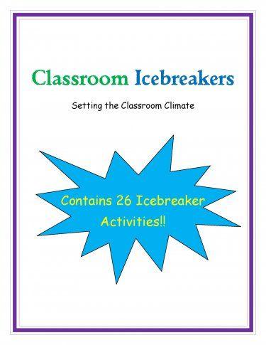 FREE Classroom Icebreakers