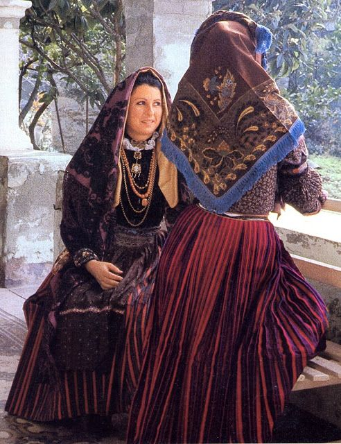 Sardinian Costume Settimo San Pietro