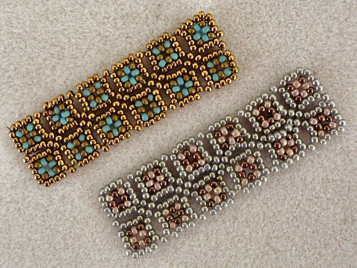 Playing with my beads...O Mosaic design
