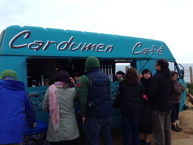 Pasando el frío de la punta #cardumencafe