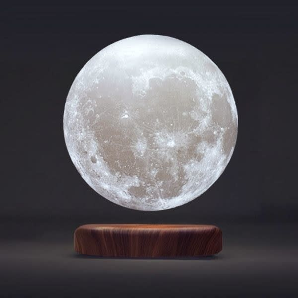 57 Amazing Gifts Under 200 That Anyone Would Love To Receive Moon Light Lamp Apollo Box Levitation