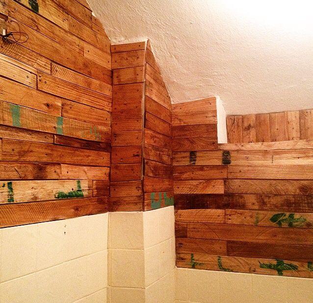 Toilet muur