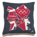 Team GB - 2012 Small Emblem Cushion - £49.50