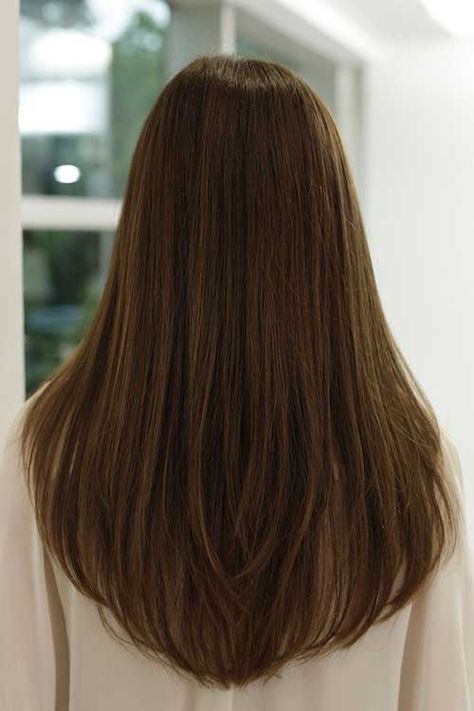 Best 25+ Long straight haircuts ideas on Pinterest   Brown ...