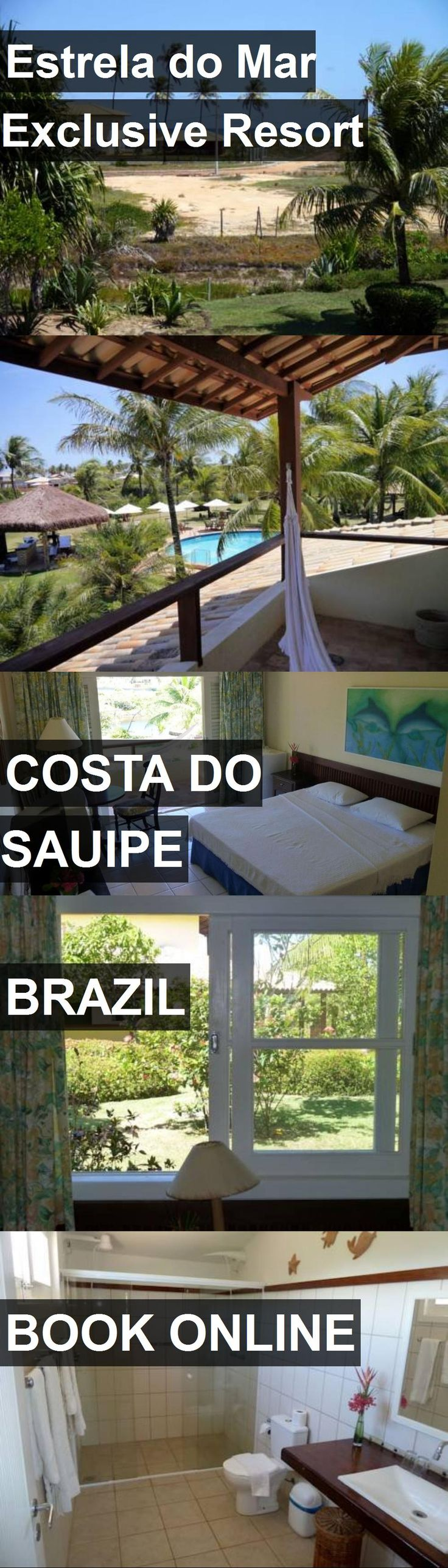 Hotel Estrela do Mar Exclusive Resort in Costa do Sauipe, Brazil. For more information, photos, reviews and best prices please follow the link. #Brazil #CostadoSauipe #travel #vacation #hotel