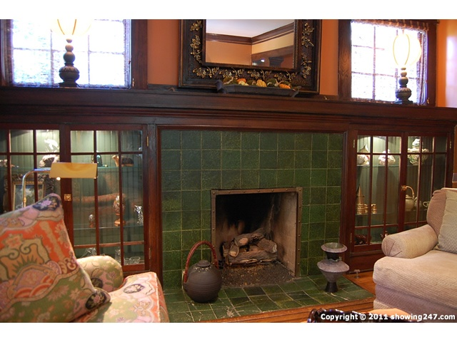 60 best bungalow fireplaces images on pinterest for Craftsman fireplace pictures