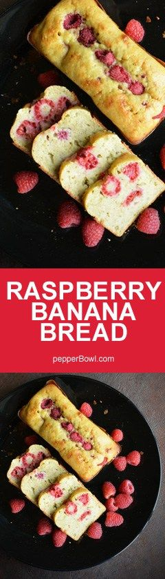 Try this Raspberry Banana Bread recipe, a super moist bread. It very versatile dish that can be served as breakfast, with step by step pictures and instruction.