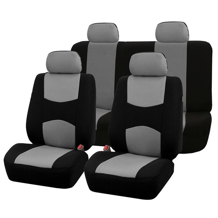 AUTOYOUTH Automobiles Seat Covers Full Car Seat Cover Universal Fit Interior Accessories Protector Color Gray Car-Styling   Price: 14.97 USD
