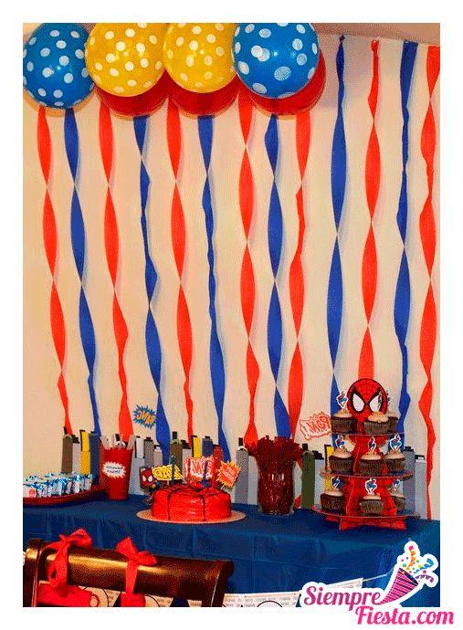 Increíbles ideas una fiesta de cumpleaños de Spiderman (el Hombre Araña) Encuentra todos los