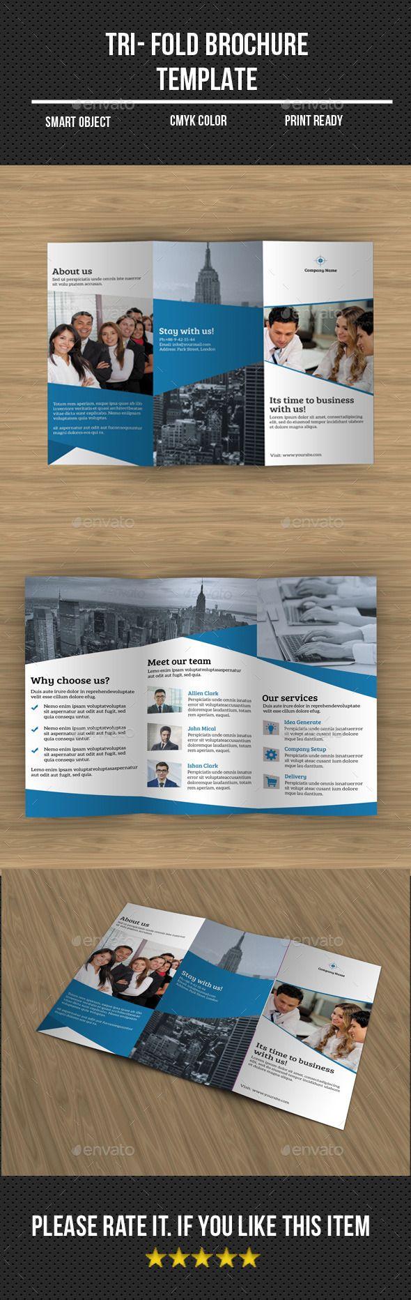 informational brochure template