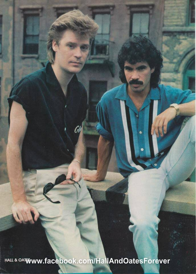 Daryl Hall and John Oates. If you like this photo, join my FB page to see more. www.facebook.com/HallAndOatesForever