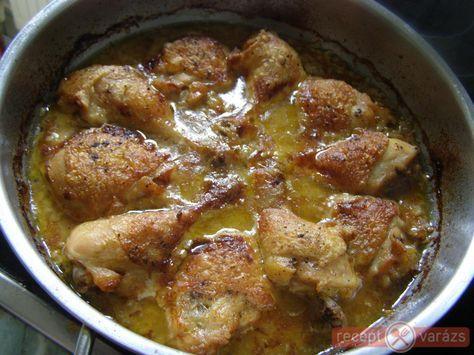 Mustáros hagymás csirke recept képpel, a hozzávalók és az elkészítés pontos leírásával. Készítsd el akár 2, vagy 12 főre, a Receptvarazs.hu ebben is segít!