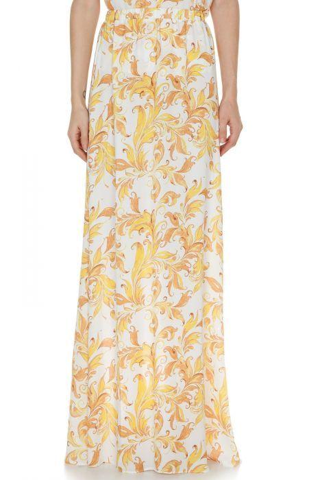 #despinavandicollection Printed maxi skirt