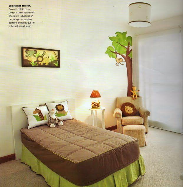 DORMITORIOS DE BEBES Y NIÑOS PEQUEÑOS : Dormitorios: Fotos de dormitorios Imágenes de habitaciones y recámaras, Diseño y Decoración