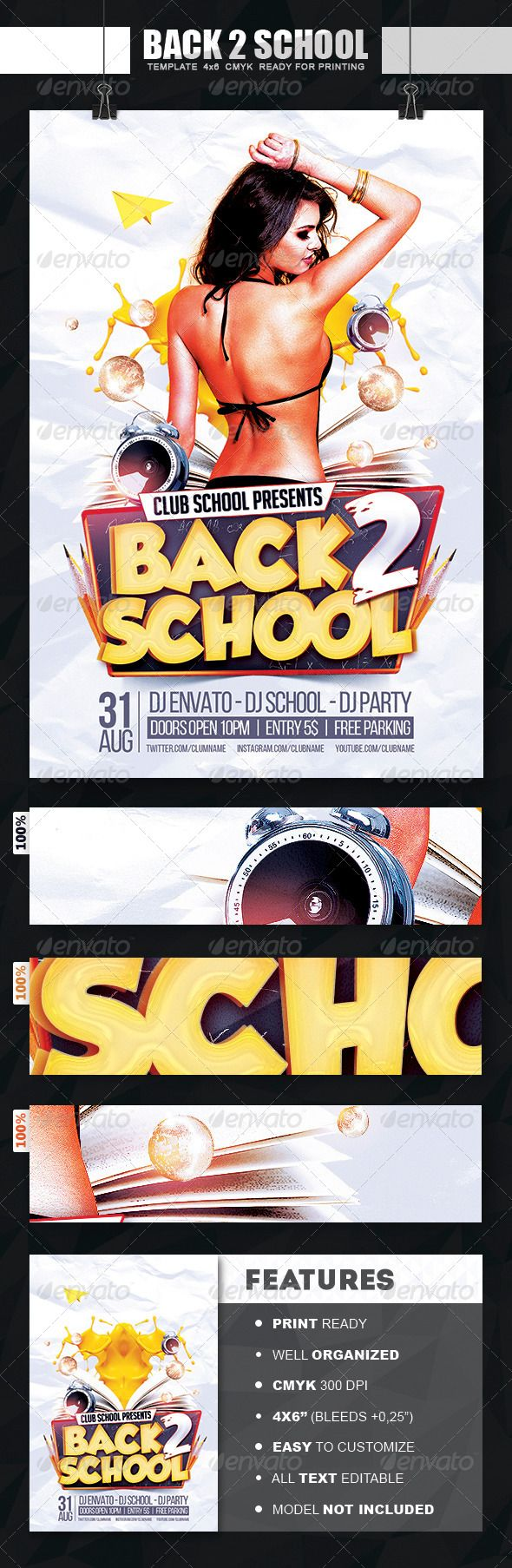 Best Flyer Template Images On   Flyer Template Font