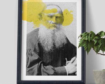 Grande Poster Art Truman Capote stampe d'arte di ObviousState