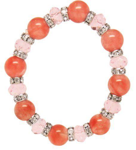Pink Stone Stretch Bracelet Jouel. $7.99. Save 73%!