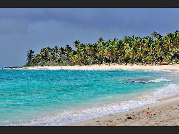 Marie-Galante, Guadeloupe |  Plage de la Feuillère Plage de la Feuillère, à Marie-Galante, en Guadeloupe.