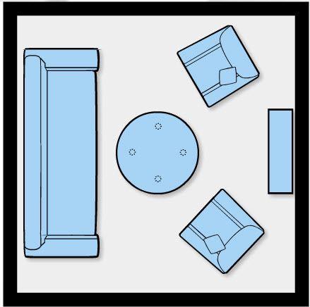 10 Ways to Furnish & Layout  100 Square Feet