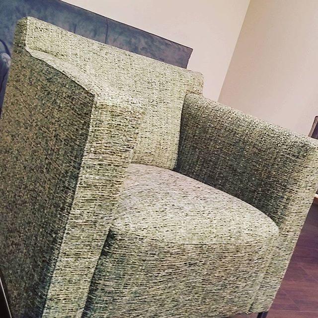 Our armchair. Today is #green #furniture #armchair #divaniblues #meda #milano #como #italiani #italia #madeinitaly #madeinbrianza #export #italiano #fabrics #comfort
