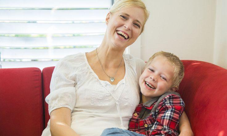 Stolt mamma til en gutt med barneautisme som er 6 år gammel.