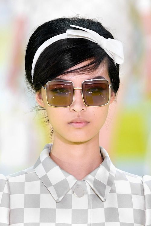 Vuitton Hip to be Square sunnies SS13