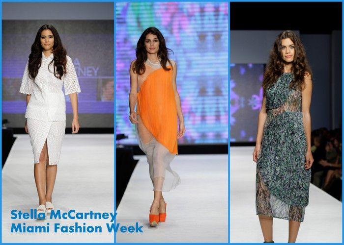 Stella McCartney spring ready to wear runway 2013High Fashion at Miami Fashion Week #miamifashionweek #sobe