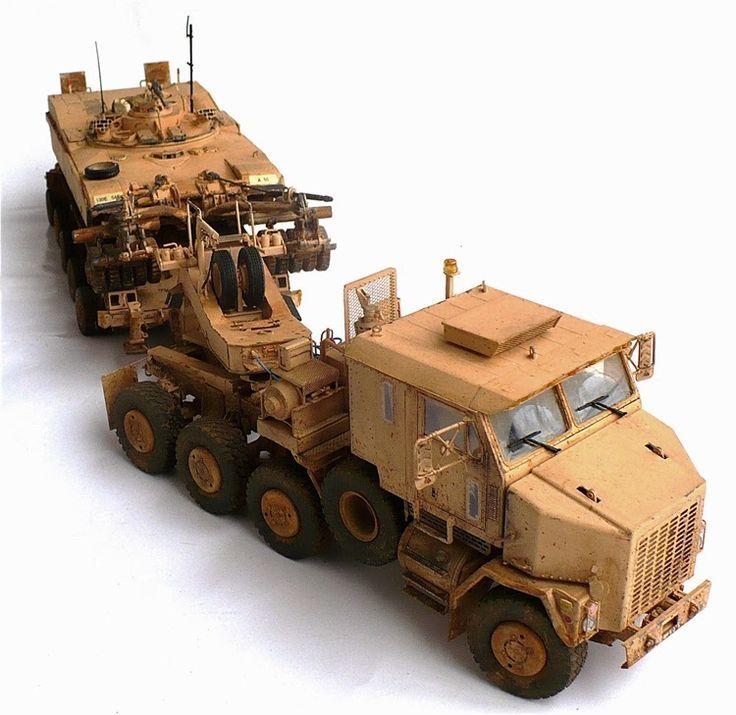 M1070 Truck Tractor M1000 Heavy Equipment Transporter Semi