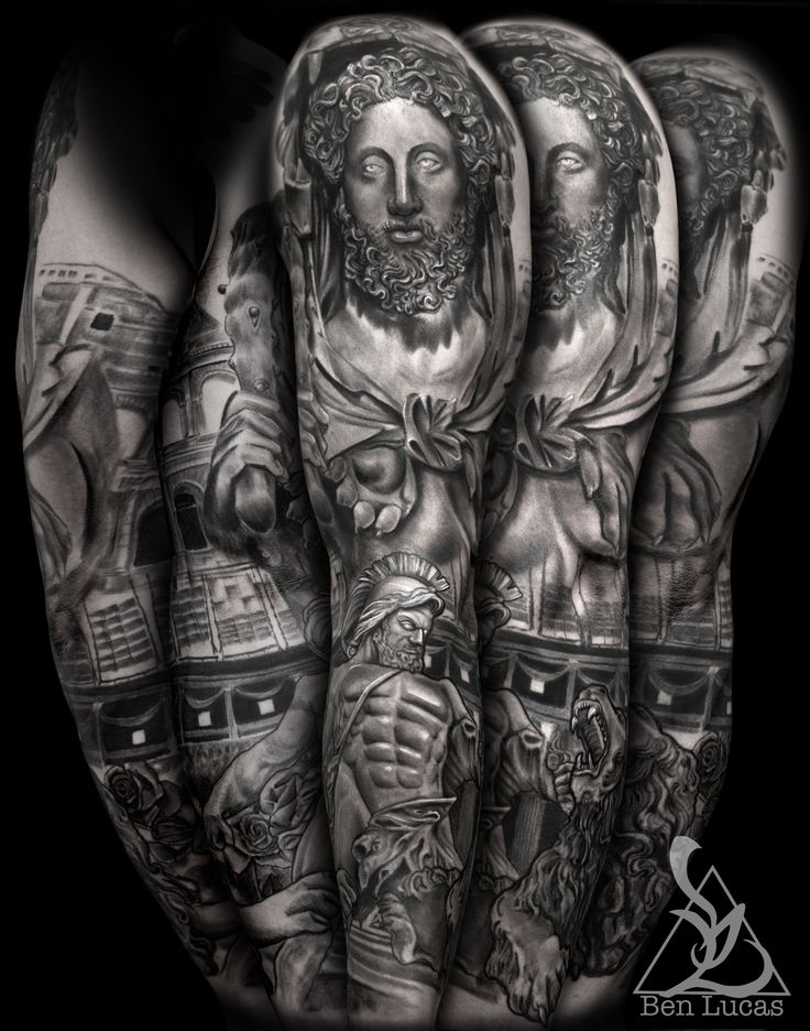 8 best images about gladiator tattoos on pinterest hercules roman catholic and the lion. Black Bedroom Furniture Sets. Home Design Ideas