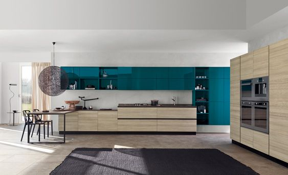 Oooh! Scavolini kitchen, Mood collection. Si, per favore.
