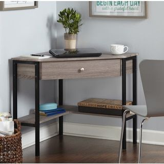 Shop for Simple Living Seneca Corner Desk. Get free shipping at Overstock.com - Your Online Furniture Outlet Store! Get 5% in rewards with Club O!