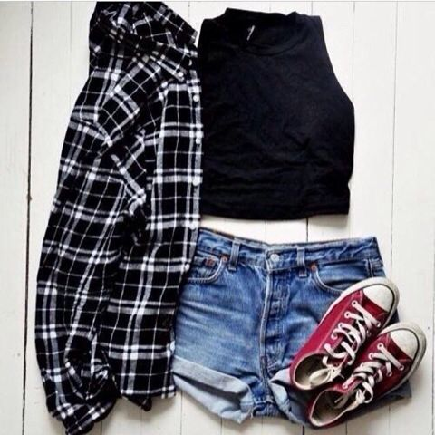 Cool outfit to chill with friends.