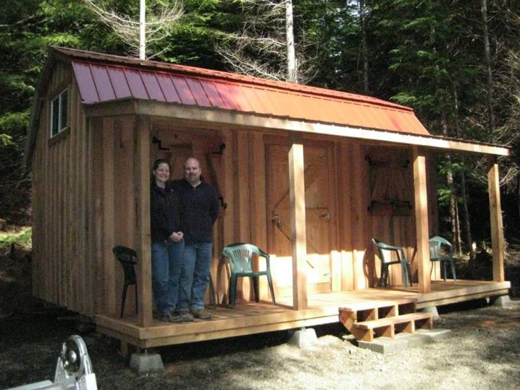 Roughing In A Country Cabin : Best sheds and small buildings images on pinterest