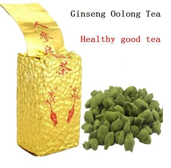 250g Famous Health Care Tea Taiwan Dong ding Ginseng Oolong Tea Ginseng Oolong ginseng tea  gift