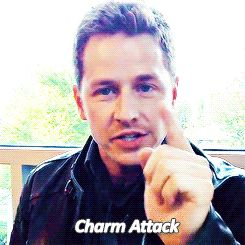 #charmattack Josh Dallas is the cutest