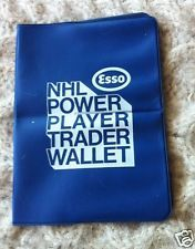 1970-71 VHTF NHL ESSO POWER PLAYERS STAMPS TRADER WALLET 70-71 GAS PROMOTION
